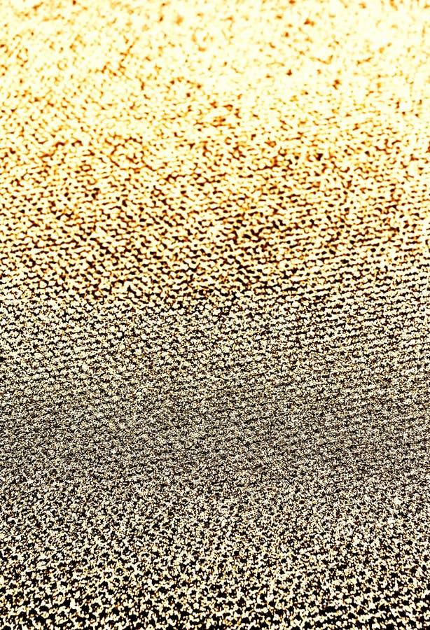 Fundo dourado das luzes do vintage do brilho Natal bonito Gl foto de stock