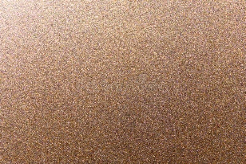 Fundo dourado, de bronze, de cobre metálico fotografia de stock