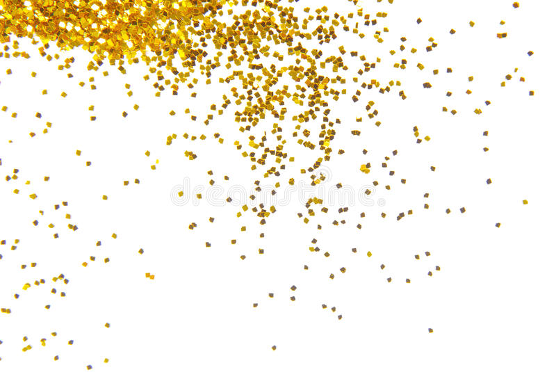 Fundo dourado do brilho fotografia de stock royalty free