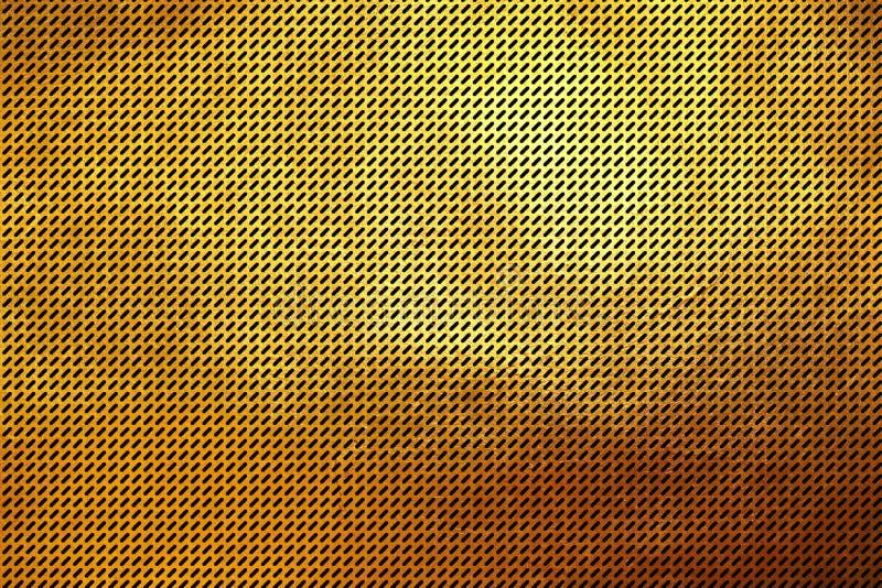 Fundo dourado shinning luxuoso criativo moderno do sumário do teste padrão da textura de Digitas para a cópia e o projeto ilustração royalty free
