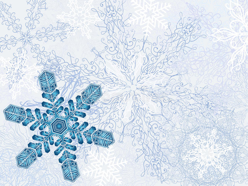 Download Fundo Dreamlike do inverno ilustração do vetor. Ilustração de ilustração - 29837075
