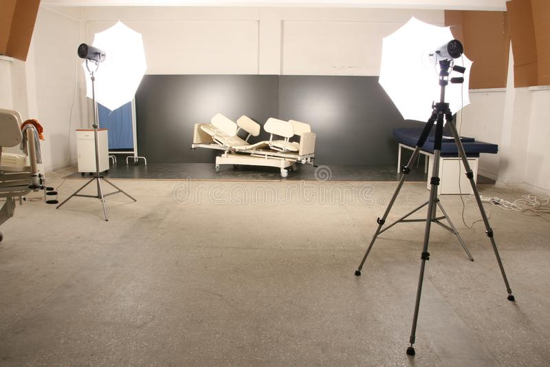 Fundo e sistemas instantâneos projetados especialmente para o tiro do estúdio foto de stock royalty free