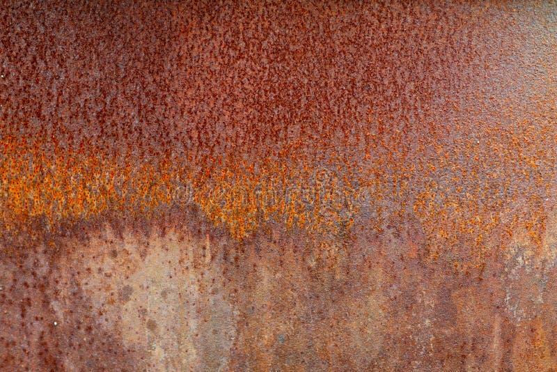 Fundo e textura velhos da oxidação do ferro do metal imagens de stock royalty free