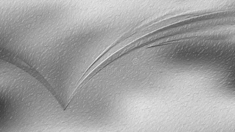 Fundo elegante bonito brilhante do projeto da arte gráfica da ilustração de Grey Abstract Texture Background Image ilustração stock