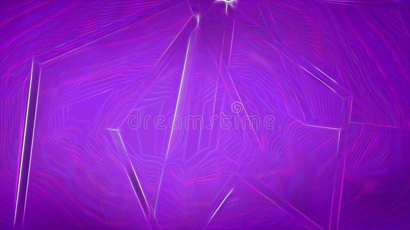 Fundo elegante bonito do projeto da arte gráfica da ilustração de Violet Abstract Texture Background Image ilustração stock