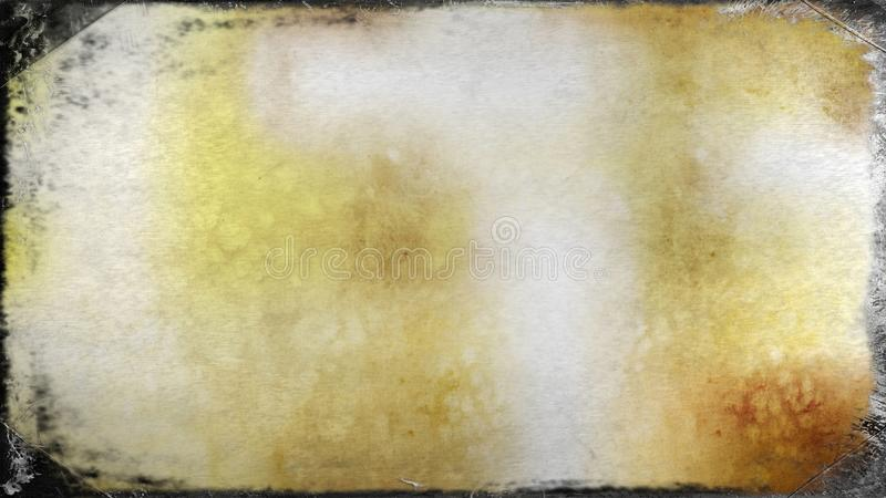 Fundo elegante bonito do projeto da arte gráfica da ilustração da imagem da laranja e do Grey Dirty Grunge Texture Background ilustração do vetor