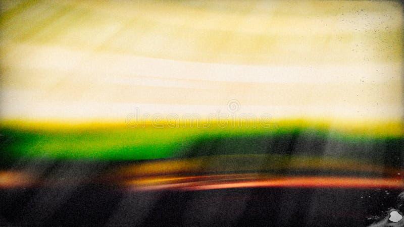Fundo elegante bonito do projeto da arte gr?fica da ilustra??o da pintura amarela verde ilustração stock