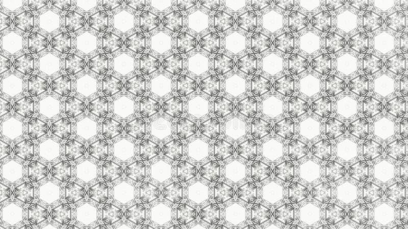 Fundo elegante claro do projeto da arte gráfica da ilustração de Gray Decorative Background Pattern Beautiful ilustração do vetor