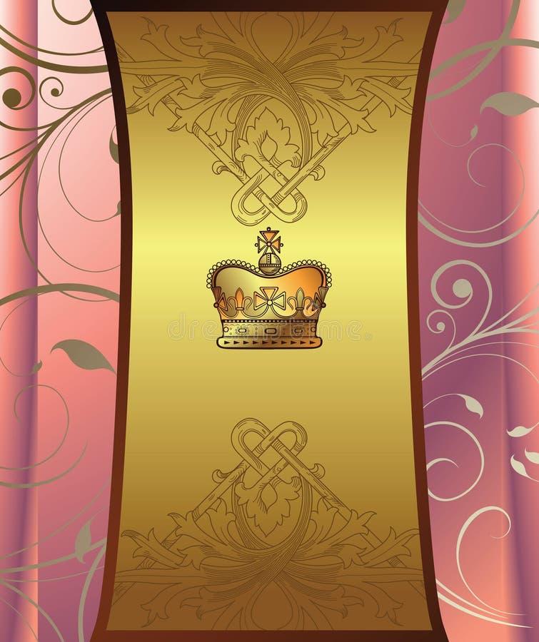 Fundo elegante do desgin ilustração royalty free