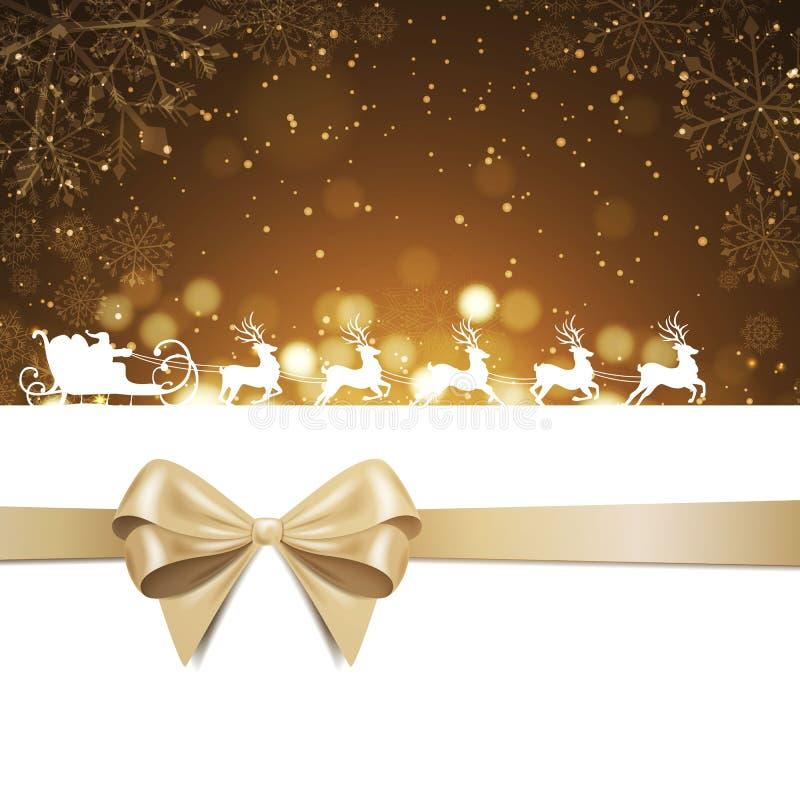 Fundo elegante do Natal ilustração royalty free