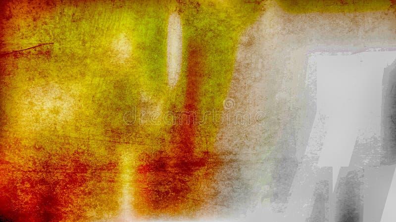 Fundo elegante do projeto da arte gráfica da ilustração da laranja e do Grey Grunge Texture ImageBeautiful ilustração stock