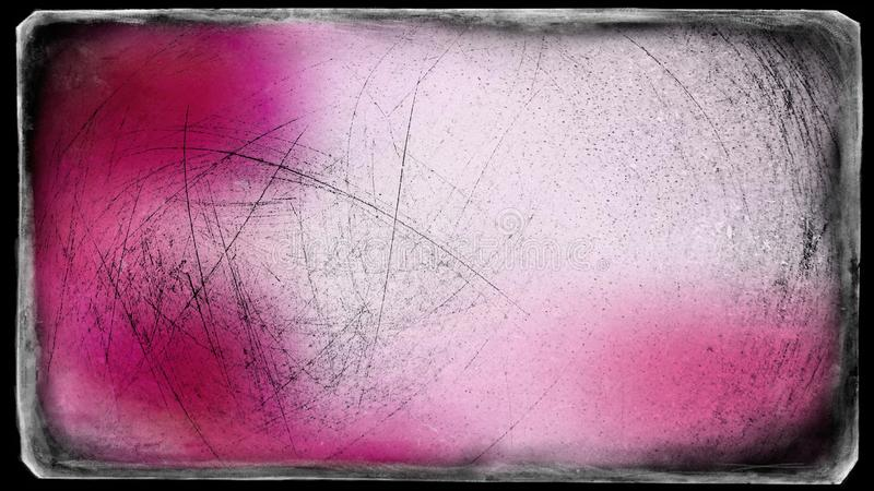 Fundo elegante do rosa e do projeto da arte gráfica da ilustração de Grey Grungy Background Beautiful ilustração do vetor