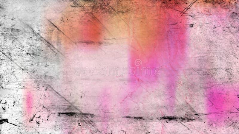 Fundo elegante do rosa e do projeto da arte gr?fica da ilustra??o de Grey Grunge Texture ImageBeautiful ilustração do vetor