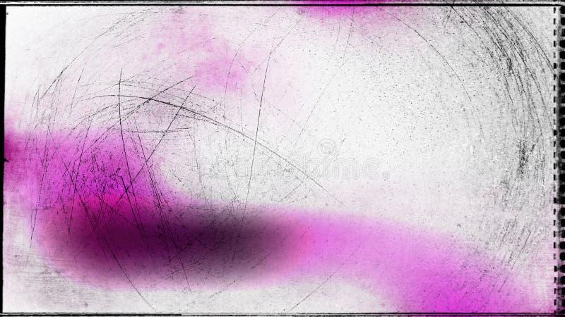 Fundo elegante do rosa e do projeto da arte gr?fica da ilustra??o de Grey Grungy Beautiful ilustração royalty free
