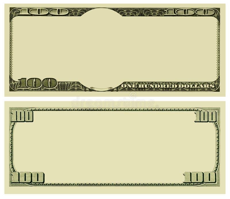 Fundo em branco do dinheiro