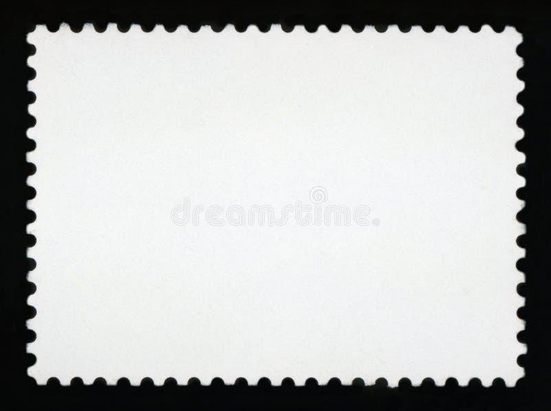 Fundo em branco do selo de porte postal fotos de stock royalty free