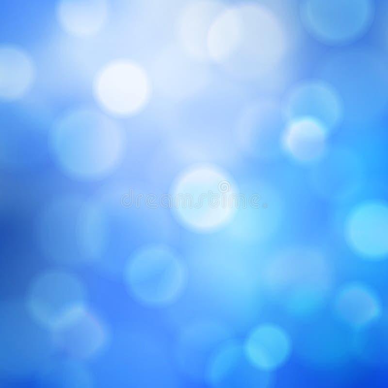 Fundo ensolarado quadrado do vetor do céu azul da mola do verão do sumário ilustração do vetor