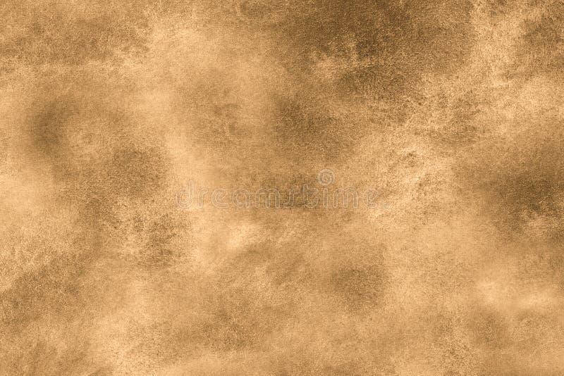 Fundo envelhecido do vintage do estilo antigo Stylization velho da ilustração da textura da foto em cores do sepia com manchas, m ilustração do vetor