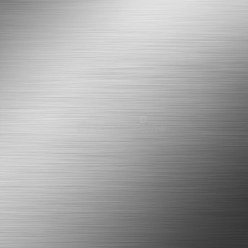Fundo escovado do metal ilustração do vetor