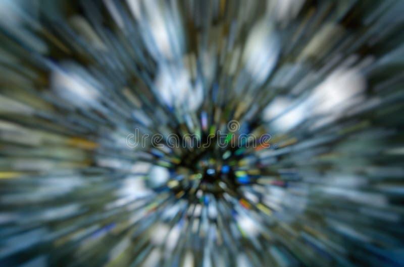 Fundo escuro abstrato do bokeh no movimento imagens de stock
