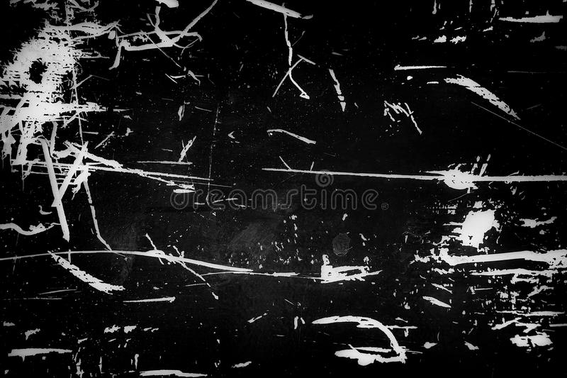 Fundo escuro com texturas sujas e riscos fotografia de stock royalty free