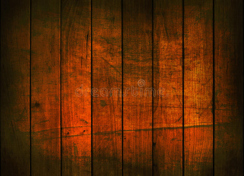 Fundo escuro da parede de madeira imagens de stock royalty free