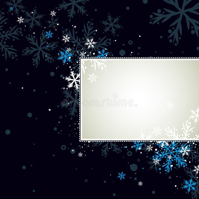 Fundo escuro do Natal,   ilustração royalty free