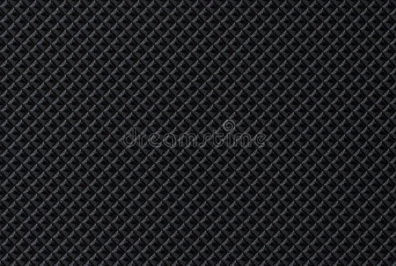 Fundo escuro preto do couro da textura da pele fotos de stock