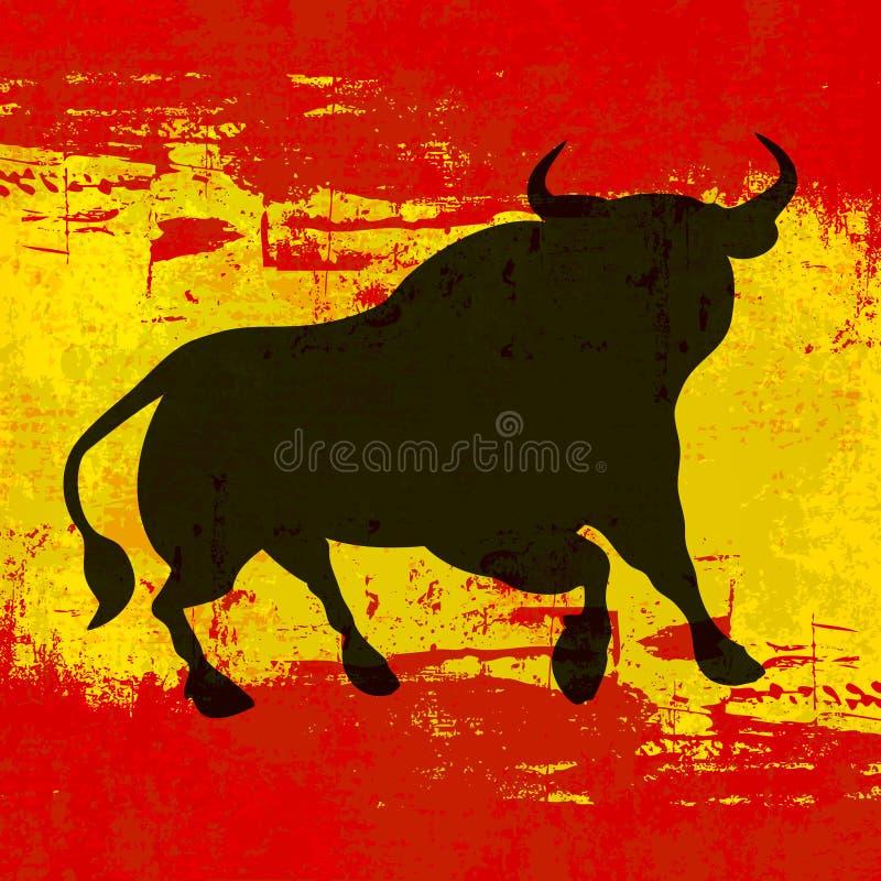 Fundo espanhol ilustração royalty free