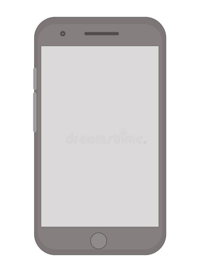 Fundo esperto dos gráficos da imagem do telefone celular ilustração do vetor