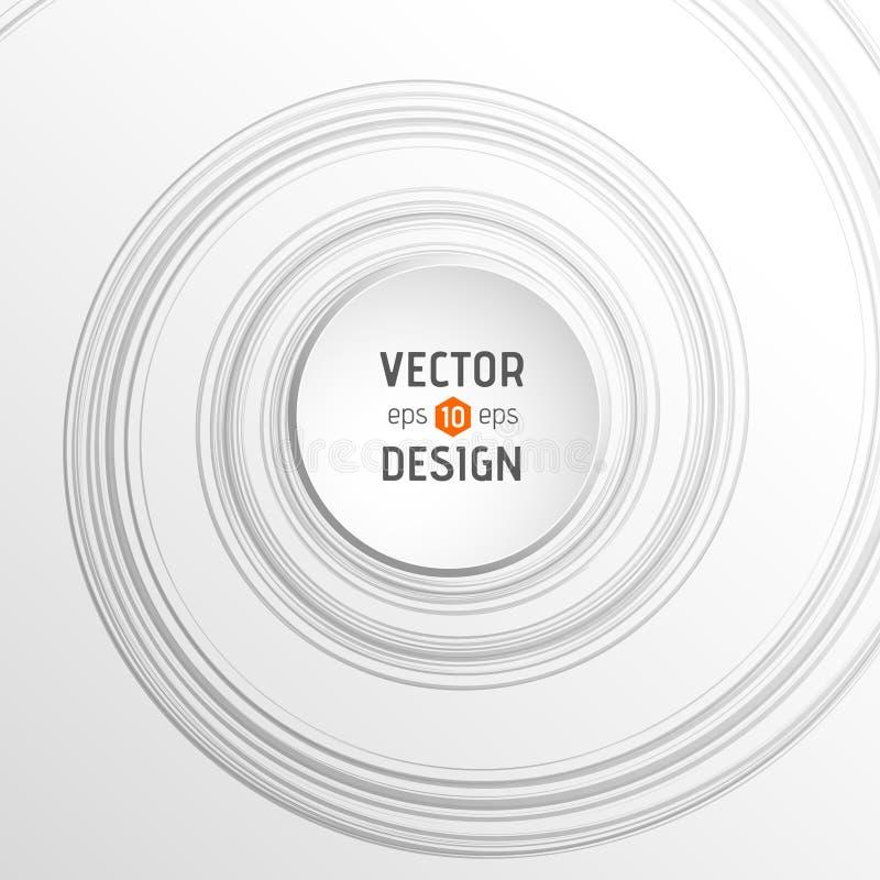 Download Fundo espiral abstrato ilustração do vetor. Ilustração de quadro - 107525730