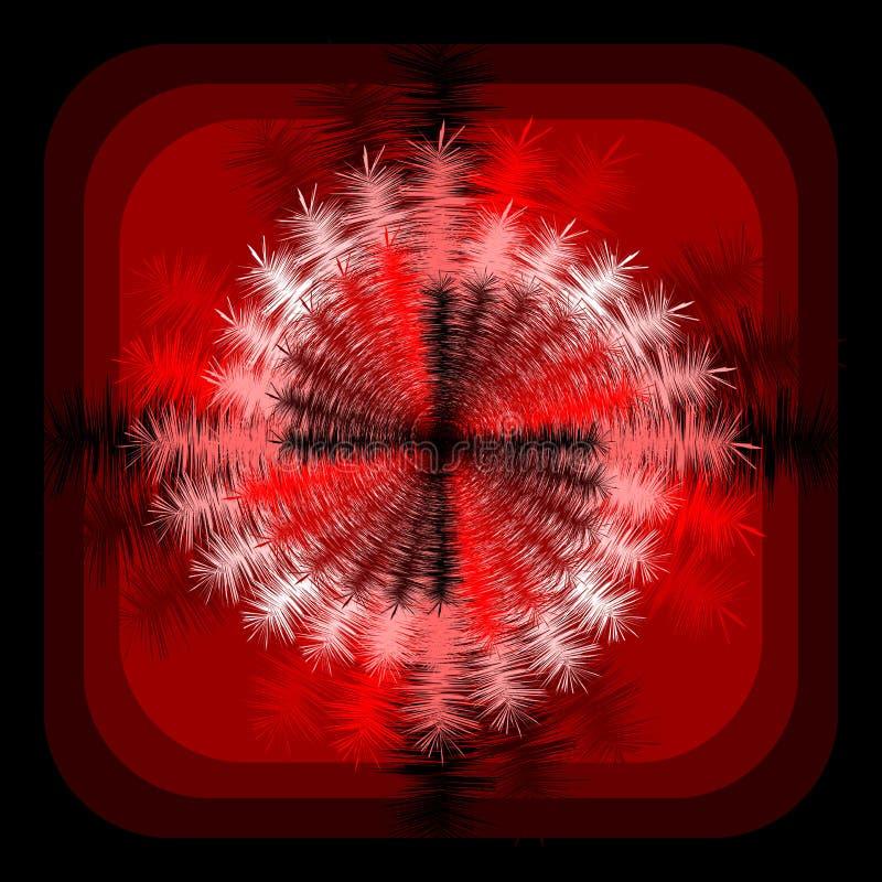 Fundo espiral abstrato do movimento de rotação do projeto ilustração stock