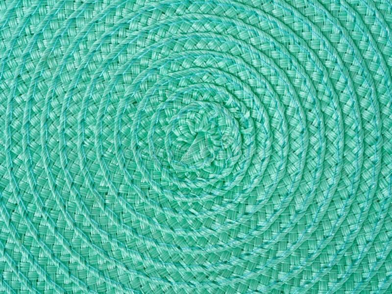 Fundo espiral verde imagens de stock
