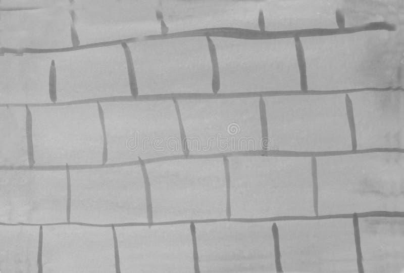 Fundo estrutural abstrato do tijolo da cor cinzenta fotos de stock royalty free