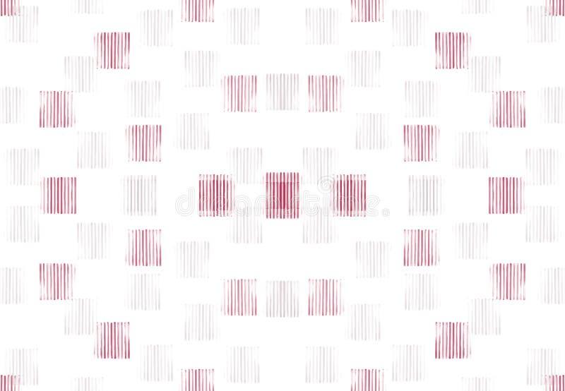 Fundo estrutural branco do sumário com elementos vermelhos imagens de stock