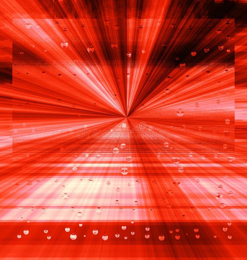 Fundo, explosão ou energia e voo vermelhos abstratos criativos foto de stock royalty free