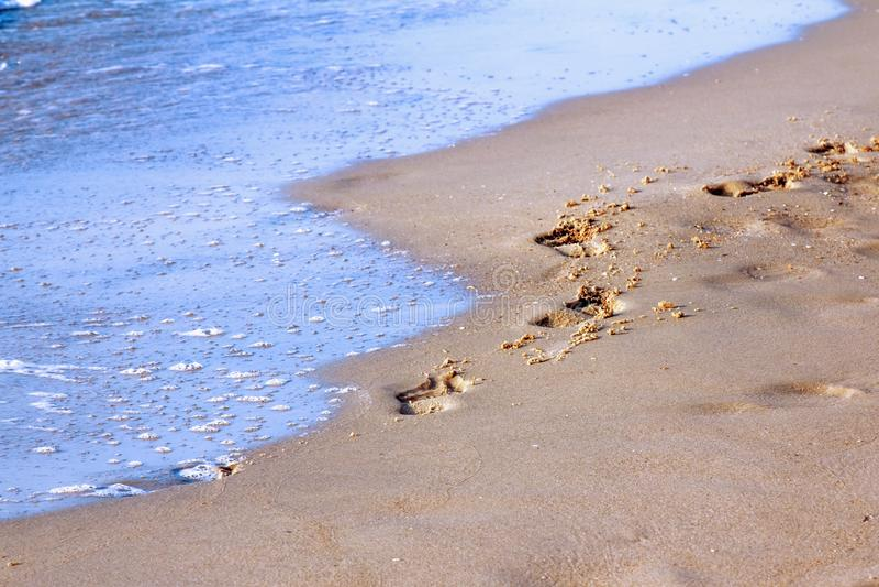 Fundo fant?stico do mar Mar Mediterr?neo, Montenegro, Europa fotografia de stock royalty free
