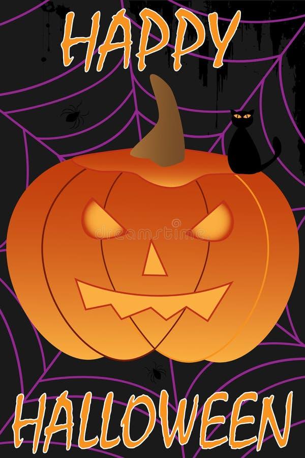 Fundo feliz de Halloween ilustração stock