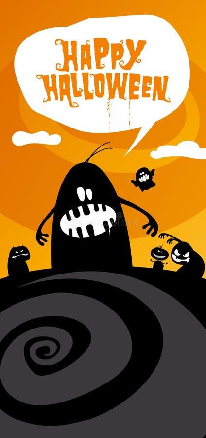 Download Fundo feliz de Halloween. ilustração do vetor. Ilustração de outubro - 26514879