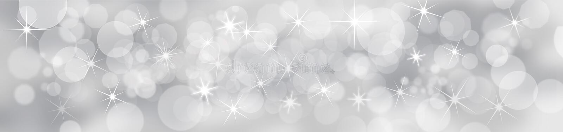 Fundo festivo de prata ilustração royalty free