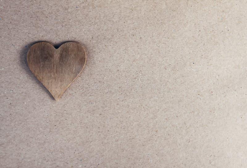 Fundo festivo do dia de Valentim com coração fotos de stock royalty free