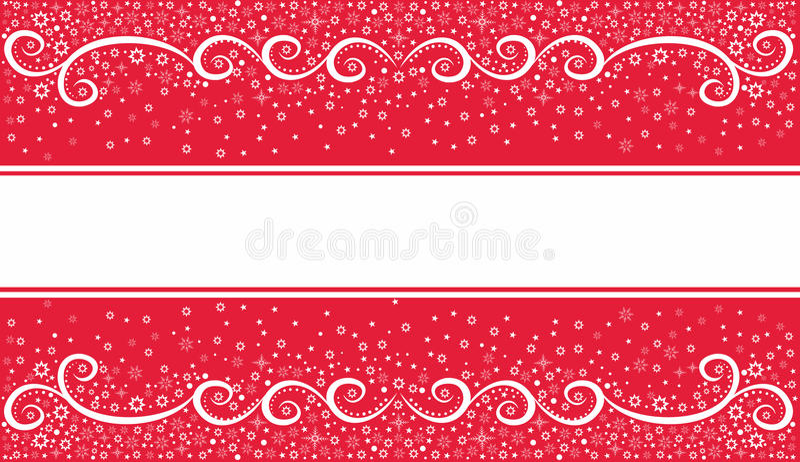 Download Fundo Festivo Do Natal No Vermelho Ilustração do Vetor - Ilustração de forma, quadro: 26515686