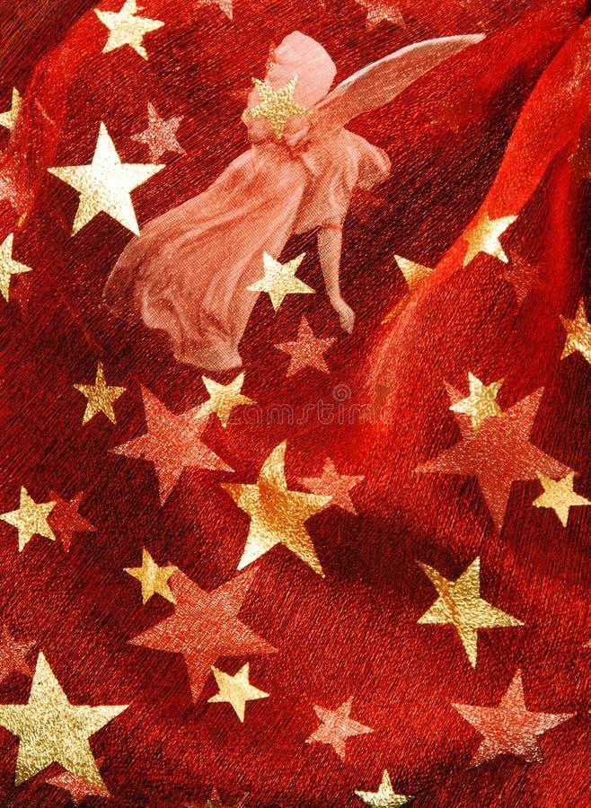 Fundo festivo vermelho fotos de stock royalty free
