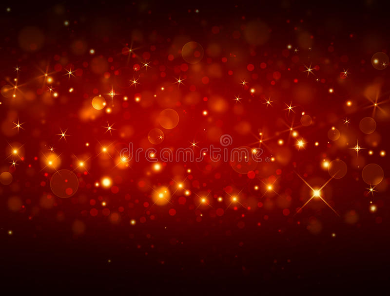 Fundo festivo vermelho elegante ilustração royalty free