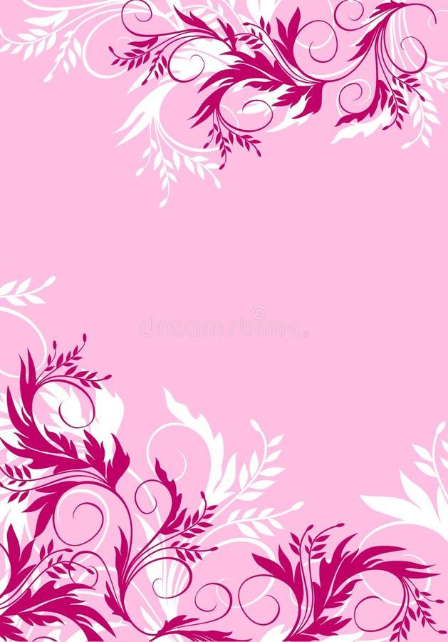 Fundo floral ilustração stock