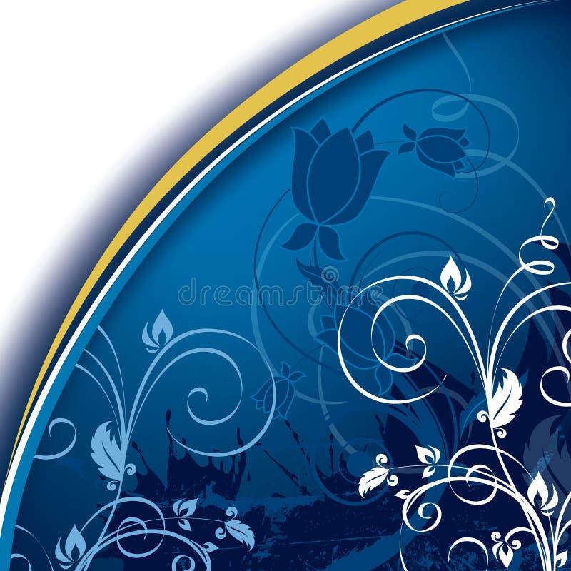Fundo floral abstrato. Ilustração do vetor. ilustração royalty free