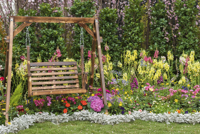 Fundo floral da flor Garden imagens de stock
