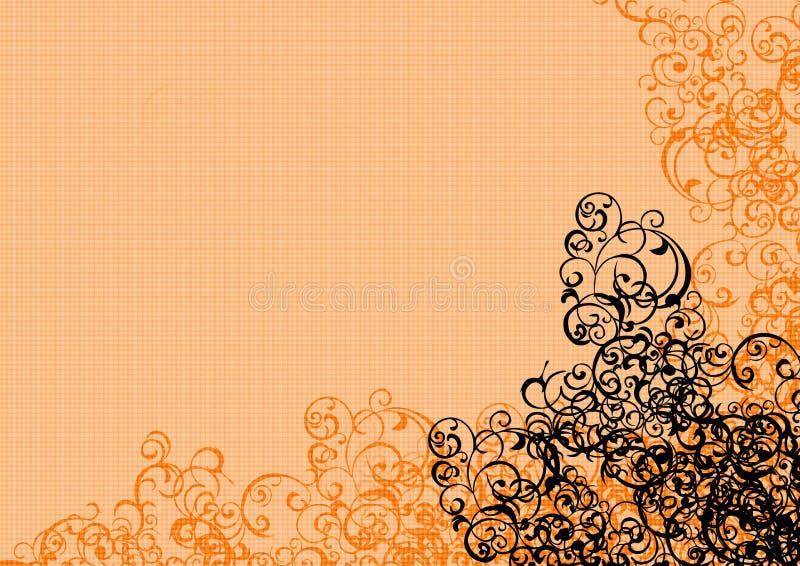 Fundo floral da textura ilustração stock