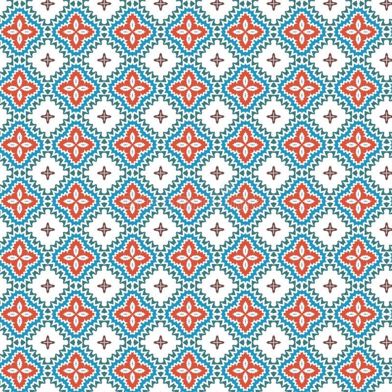 Fundo floral da textura do teste padrão de flor da folha colorida abstrata original ilustração royalty free