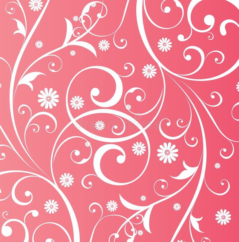 Fundo floral de Desgin ilustração stock